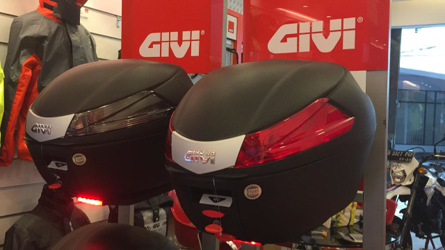 Boks motor GIVI terbaru