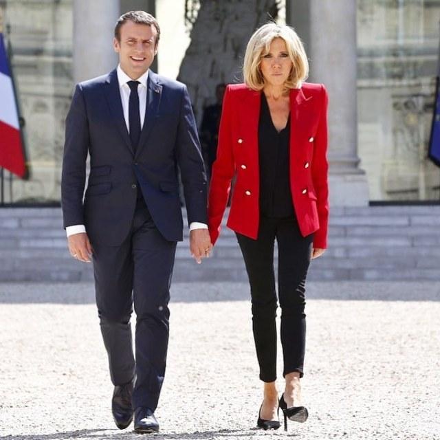 Brigitte Macron, (NOT COVER)