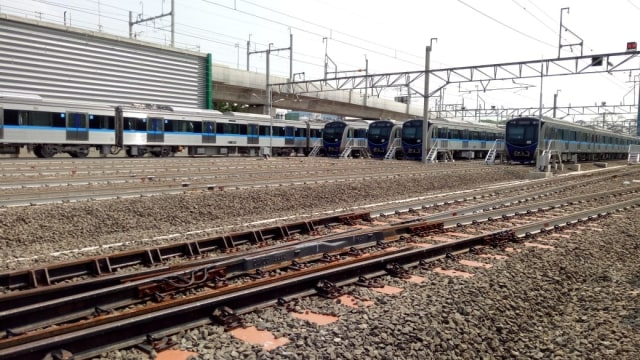 MRT Fase II Bundaran HI-Jakarta Kota Belum Punya Depo Kereta (121080)