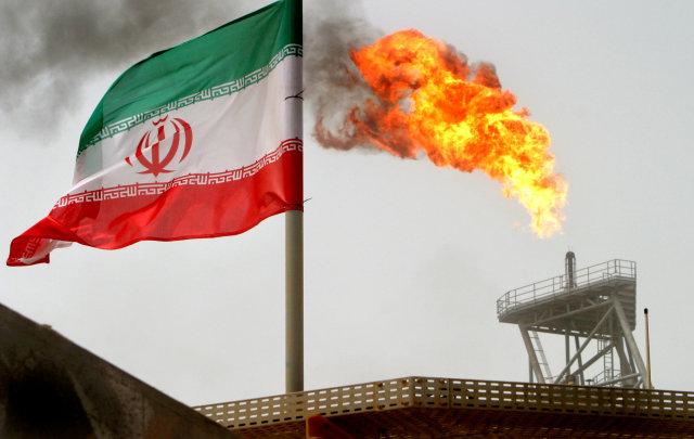 Ilustrasi minyak Iran