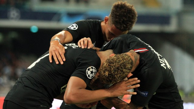 Napoli dan PSG Berbagi Angka di San Paolo (69765)