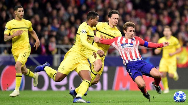 Atletico Madrid vs Borussia Dortmund