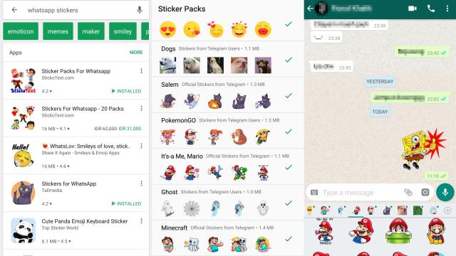 Cara Download Banyak Stiker Baru Untuk Aplikasi Whatsapp