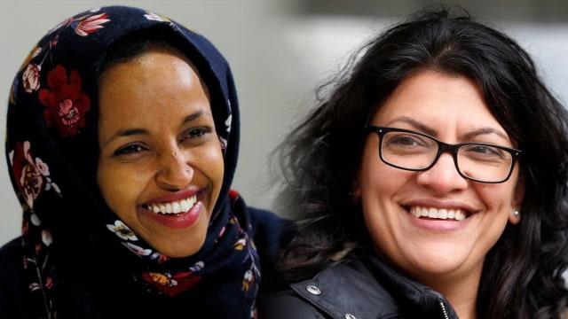 Ilhan Omar dan Rashida Tlaib, Dua Wanita Muslim Pertama di Kongres AS (214554)