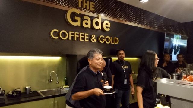 Direktur Utama Pegadaian, Sunarso membuka The Gade Gold and Coffee
