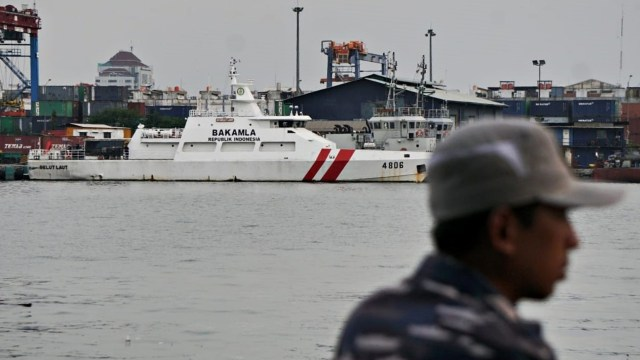 Ilustrasi kapal Bakamla