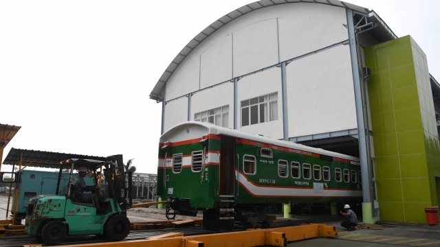 Pabrik PT INKA, Madiun, Jawa Timur