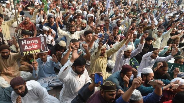 Demo Menentang Asia Bibi, Pakistan, Penista Agama