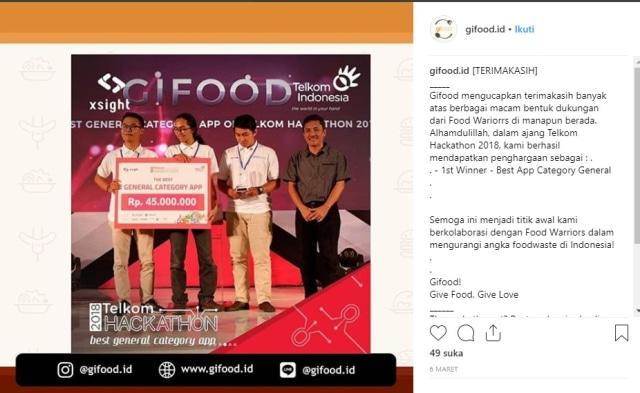 Gifood Indonesia, Aplikasi Unik untuk Berbagi Makanan Berlebih (851254)