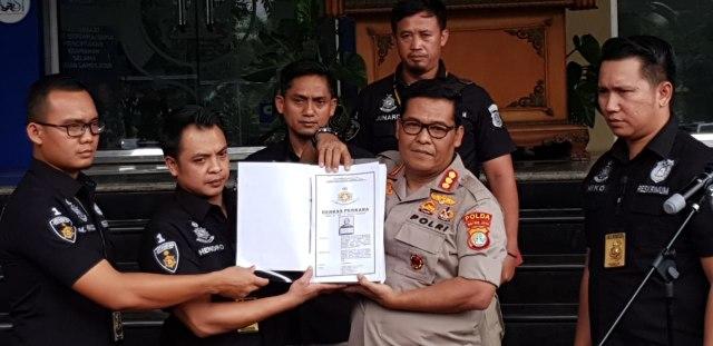 Penyerahan Berkas Kasus Hoaks, Ratna Sarumpaet