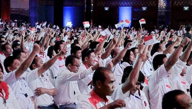 LIPSUS - BEDAH MARS PARTAI POLITIK, kader Perindo, Rapimnas Partai Perindo