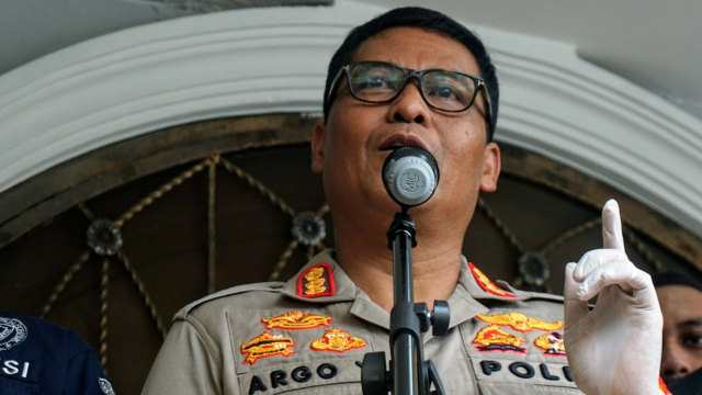 Kabid Humas Polda Metro Jaya Argo Yuwono