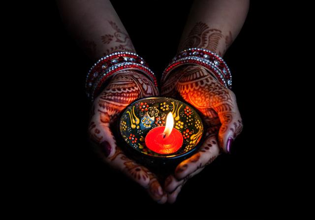 Ilustrasi Festival Diwali