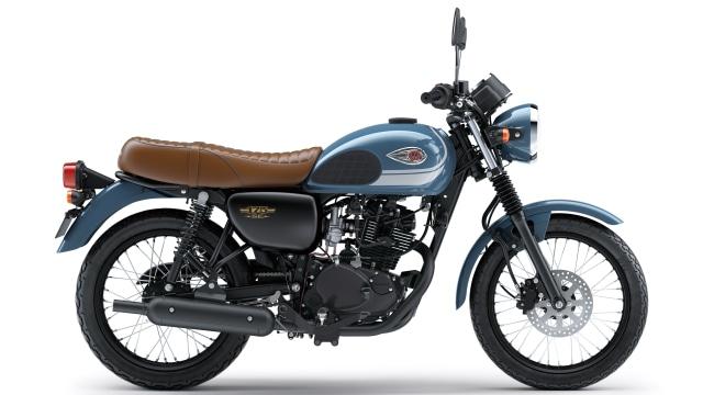 Kawasaki W175 Model 2019: Punya Warna Baru, Harga Tetap  (6537)