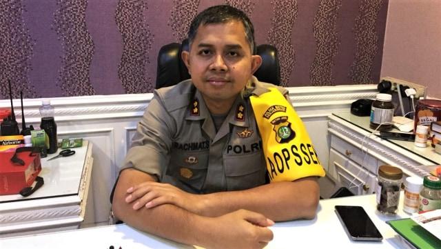 Kapolsek Penjaringan AKBP Rachmat Sungkar