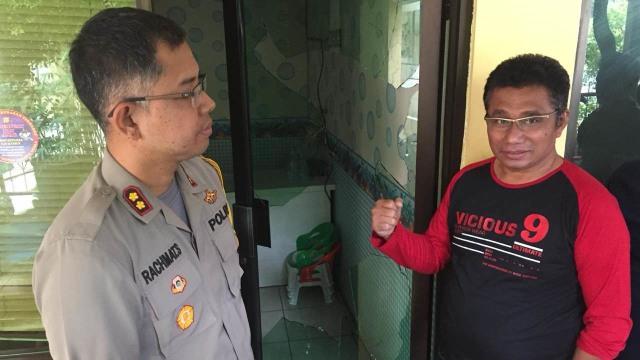 Kapolsek Penjaringan AKBP Rachmat Sungkar, Serang