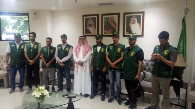 Dubes Saudi, Bantuan Raja Salman, Korban Gempa Palu
