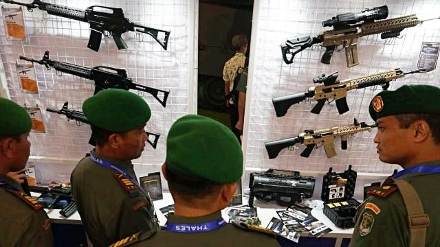 alutsista, Indo Defence Expo & Forum, Jiexpo Kemayoran