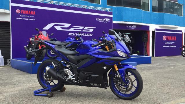 Motor baru, all new Yamaha R25