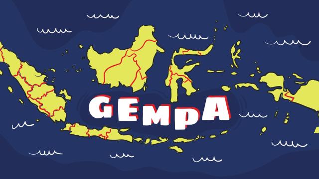 Gempa 4,6 M Guncang Jayapura, Papua (121196)