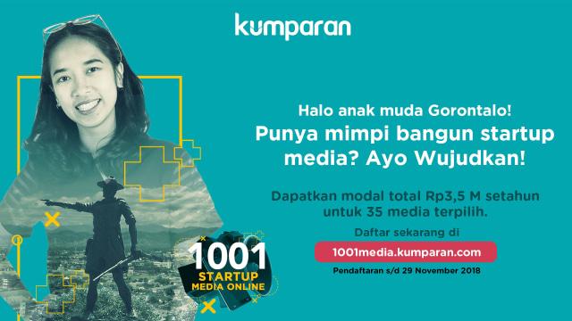 kumparan 1001 Startup Media Online Gorontalo