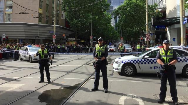 Lokasi Penusukan, Melbourne