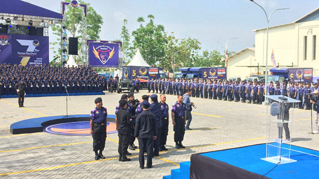 Surya Paloh Minta Kesiapan Akademi Bela Negara NasDem Jaga Pemilu 2019 (308267)