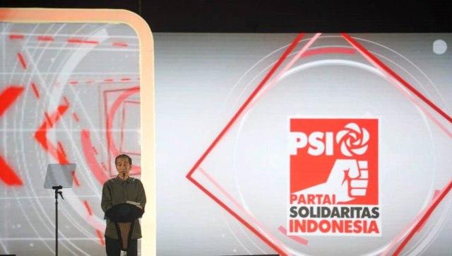 Jokowi, Perayaan HUT ke 4 PSI, ICE BSD