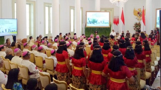 Saat Jokowi Ibaratkan Persatuan RI Seperti Paduan Suara (159188)