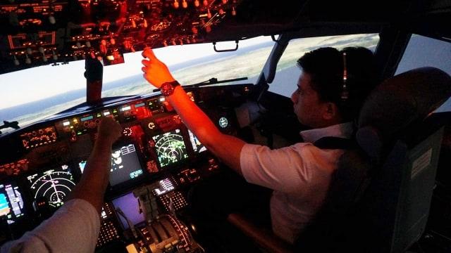 Pelatihan Pilot Pesawat Lion Air Boeing 737, Bandara Mas Angkasa Training Center