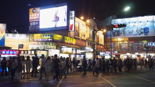 Pasar malam Shihlin di Taipei, Taiwan