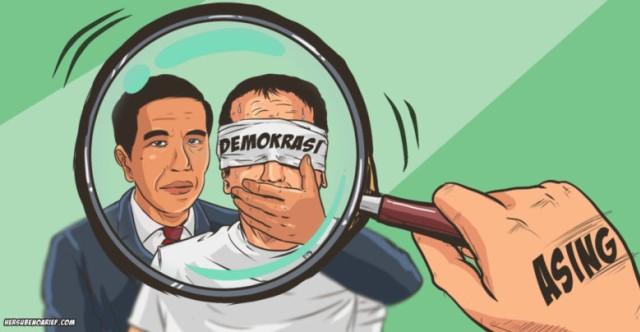 Jokowi di Mata Pengamat Asing: Anti Demokrasi, dan Otoriter (306793)