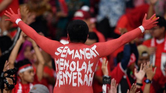 Lipsus PSSI, Suporter, timnas Indonesia