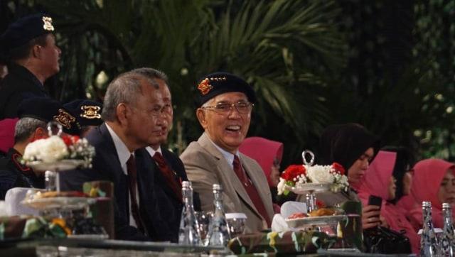 Mantan Wakil Presiden Try Sutrisno