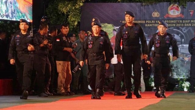 Kapolri Jenderal Tito Karnavian, Syukuran HUT Brimob Polri Ke 73, Mako Brimob Kelapa Dua