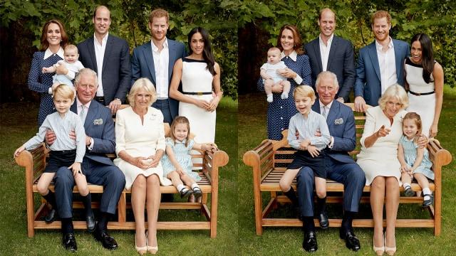 Potret Royal Family di Hari Ulang Tahun Pangeran Charles