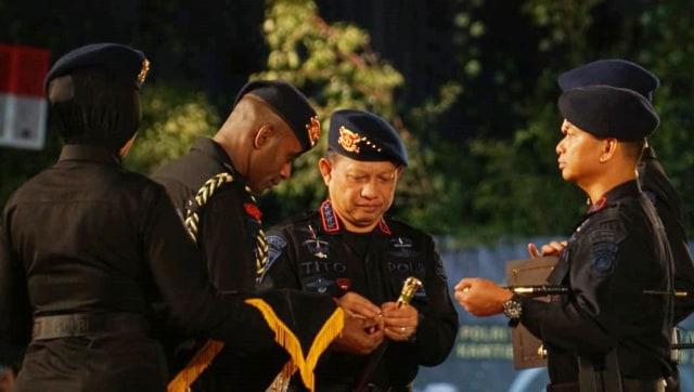 penghargaan anggota Brimob terbaik, Kapolri Jenderal Tito Karnavian, HUT Brimob Polri Ke 73