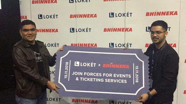 Kerja Sama Loket dan Bhinneka