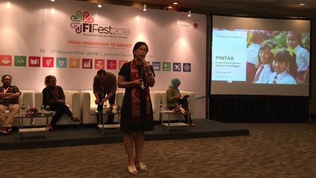 Margaretha Ari Widowati, Deputi Direktur Progam Tanoto Foundation, mengatakan bahwa kualitas pendidikan siswa dipengaruhi oleh kualitas gurunya.