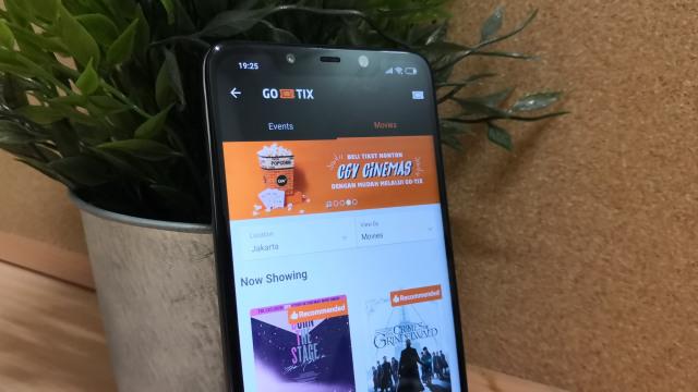 Layanan Go-Tix di Aplikasi Go-Jek