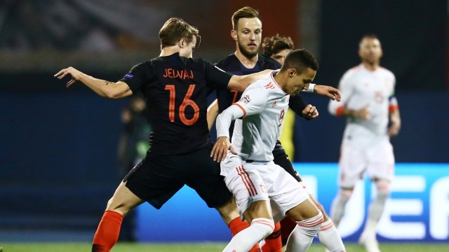 Spanyol vs Kroasia
