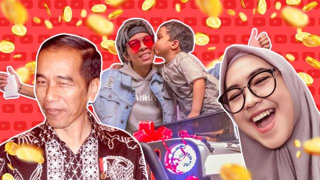 Kantongi Rp 250 Juta per Bulan, Gaji Youtubers Lampaui Jokowi (1365)