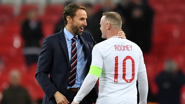 Southgate, Rooney