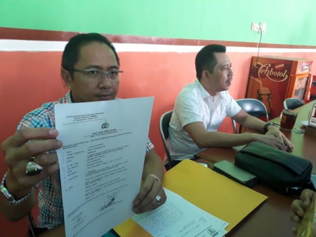 Dipecat Sepihak, Wakil Bupati Tabalong Polisikan Sekda - Bupati (88050)
