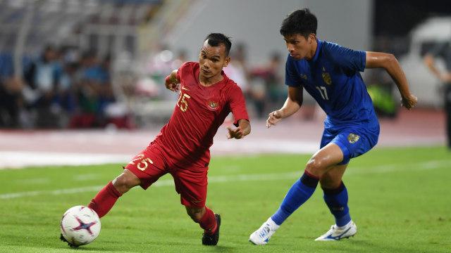 Timnas Indonesia melawan Thailand di AFF 2018