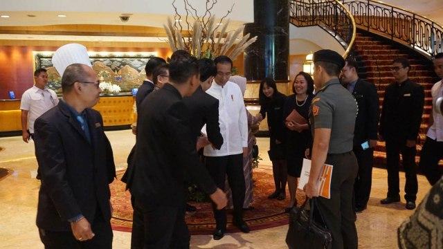 Presiden Jokowi, Iriana, Surabaya, Lamongan