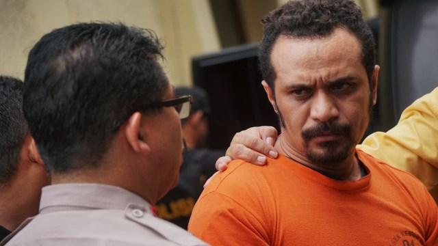 Konferensi pers kasus penganiayaan di Polres Jakarta Barat, Selasa