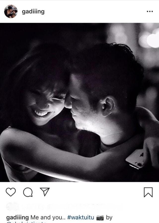quotes r tis di instagram gading marten untuk gisella