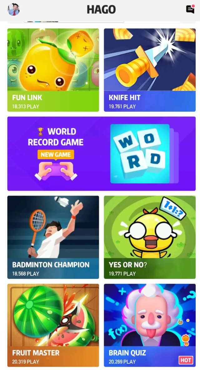 Hago Aplikasi Sosial Gaming No 1 Di Indonesia Tawarkan Game Berteknologi Ar Kumparan Com