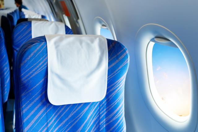 Mengapa Sebagian Besar Kursi Pesawat Berwarna Biru? Ini Alasannya (159368)